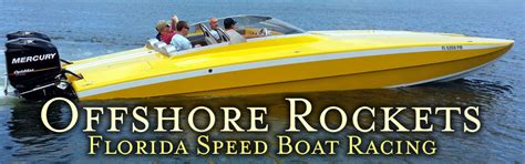 Offshore Racing Boats Speed by High Performance Speed Boat Racing Adventure In Florida