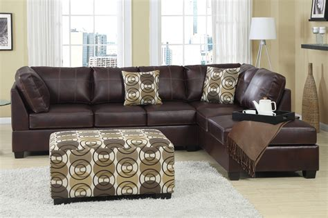 l shaped leather sofa dark brown l shaped leather sofa all about house design