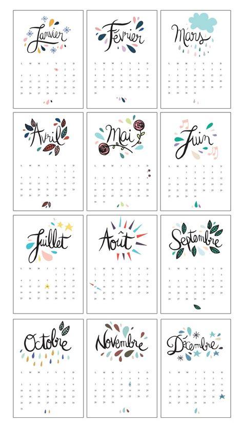 calendrier sur le bureau les 25 meilleures idées de la catégorie calendrier sur