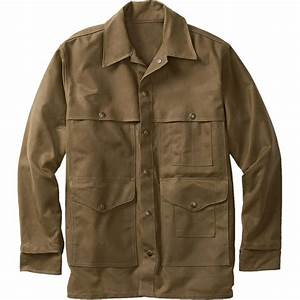 Filson Tin Cloth Cruiser Jacket - Men's | Backcountry.com