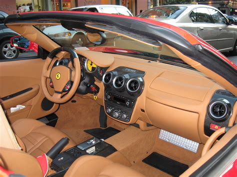 Ferrari F430 Spider F1 interior   Here's a little inside ...