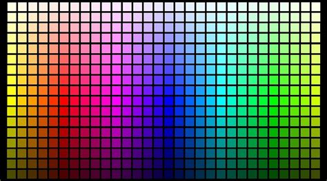 color chart the ultimate color chart you will never use because you