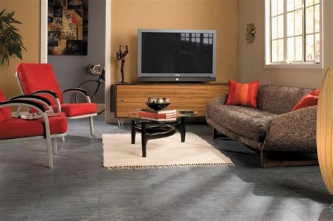 Grey Tiles Living Room by Quadra Charcoal Grey Tiles Color Uf1019 Step