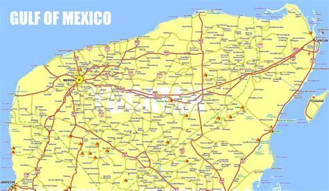 road map mexico yucatan