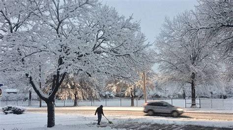 Winter storm dumps snow on Kansas City snow will continue