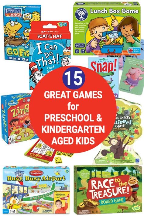 15 board for preschool amp kindergarten ages 3 5 years 626 | Preschool board games