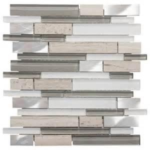 jeffrey court moon patrol 11 75 in x 12 in x 8 mm glass metal limestone mosaic wall tile 99717