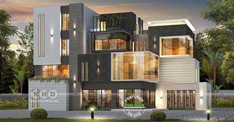 bedroom box model ultra modern home kerala home design  floor plans
