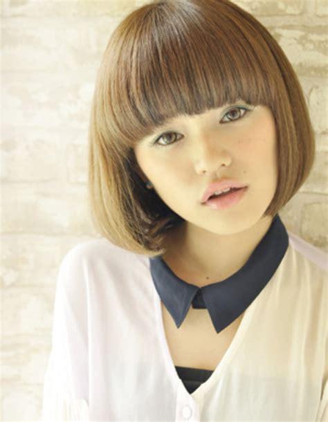 hair style for やわらかカラー 1ポイントカラー ボブ hs64 ヘアカタログ 髪型 ヘアスタイル afloat 6091