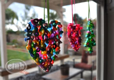 melted bead ornaments diy