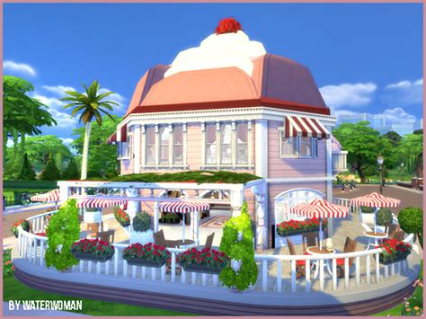 akisima sims blog  cupcake shop sims  downloads