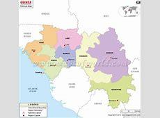 Political Map of Guinea