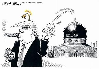 Zapiro South Africa Cartoon Maverick Daily Trump
