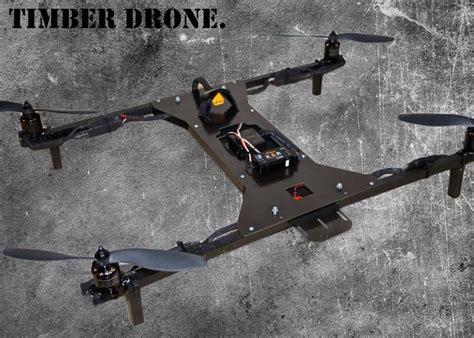 timber drone diy kit launches  kickstarter video