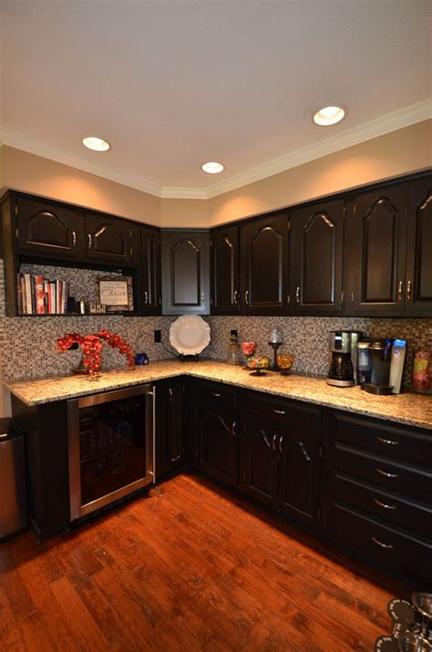 Pictures Kitchen Cabinets Painted Black by Oak Cabinets Painted Black Kitchen