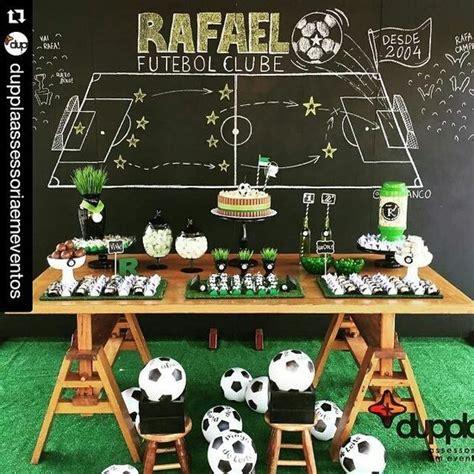 decoracion  cumple de futbol infantil decoracion de