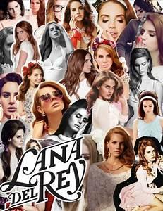 Lana Del Rey collage | Hotties | Pinterest