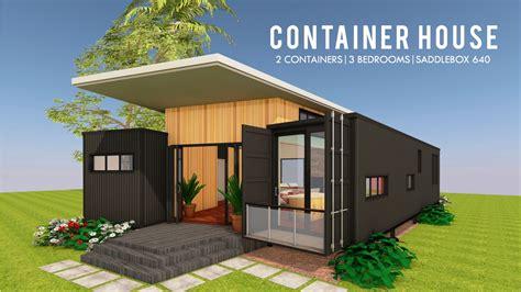 modern container house design floor plans saddlebox
