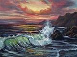 Sunset Surf | patricia seitz | Foundmyself
