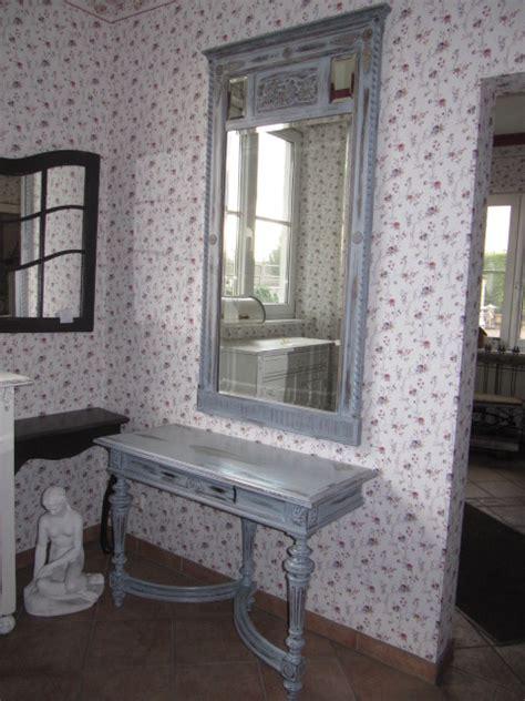 konsolentisch mit spiegel vintage konsolentisch mit passend dazu gearbeitetem spiegel stilvoll wohnen