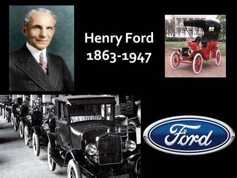 noticulturales por adligmary henry ford inventor
