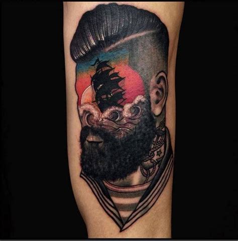 mesmerizing surreal tattoos   wonderful gravetics