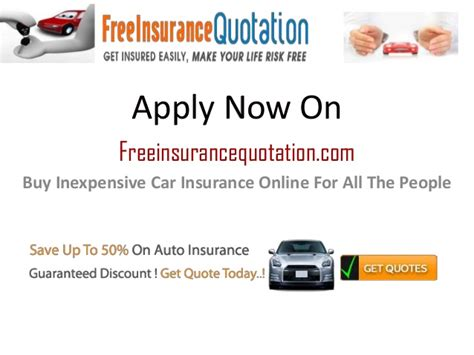 Check this insurer not on comparison sites. Buy Inexpensive Car Insurance Online For All The People