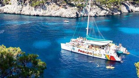 Catamaran Hire Alcudia by Port Alcudia Sailing Catamaran Boat Trip Seemallorca