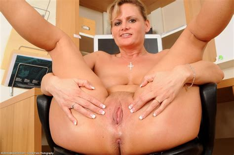 Horny Mom Becca Blossoms Strips In The Office Free