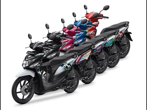 Honda Beat Pop Putih 2015 2016 2016 honda beat pop 110 esp terbaru