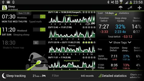 sleep as android 5 best sleep tracking android apps a better sleep