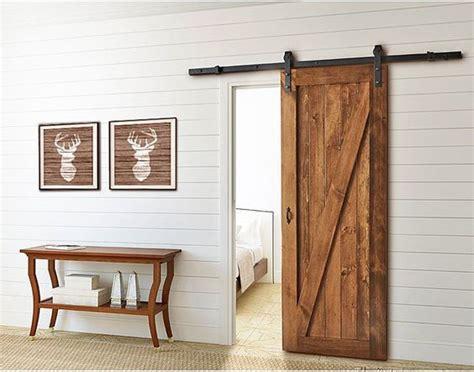 porte de chambre en bois pas cher la porte de grange en 37 idées déco