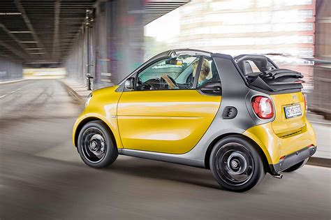 Smart Fortwo Cabrio First Drive Car March 2018 By Car