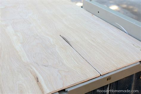 Plywood For Shiplap by Diy Shiplap Wall For 40 Hoosier