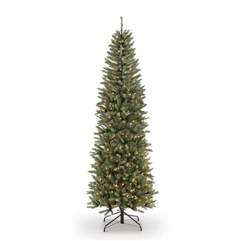 pre lit pencil christmas trees artificial 4 ft pre lit incandescent fraser fir pencil artificial tree with 150 ul clear lights