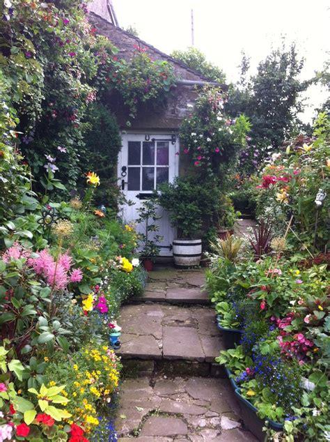 Country Cottage Garden Gardens Pinterest