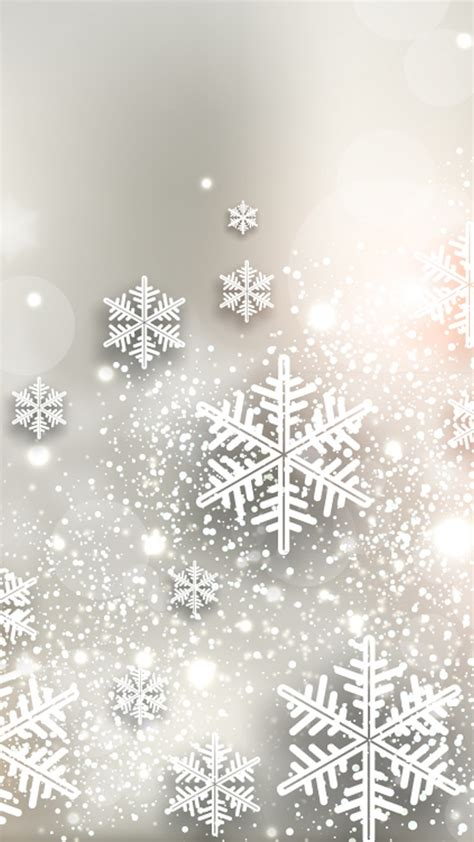 snowflake iphone wallpaper shiny snowflakes iphone 6 6 plus and iphone 5 4 wallpapers
