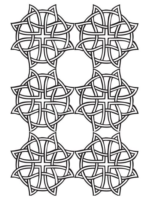 adult coloring page geometric patterns drawing