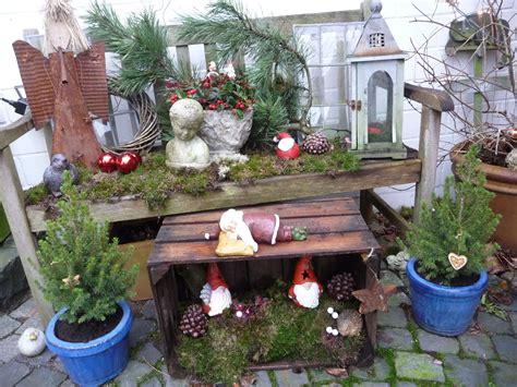Weihnachtsdeko Im Garten by Wozu Eine Alte Weinkiste Alles Gut Ist Wohnen Und