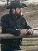 Cole Hauser Yellowstone Rip Wheeler Black Jacket - Stars ...
