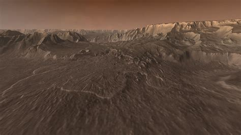 landslide mars wallpaper