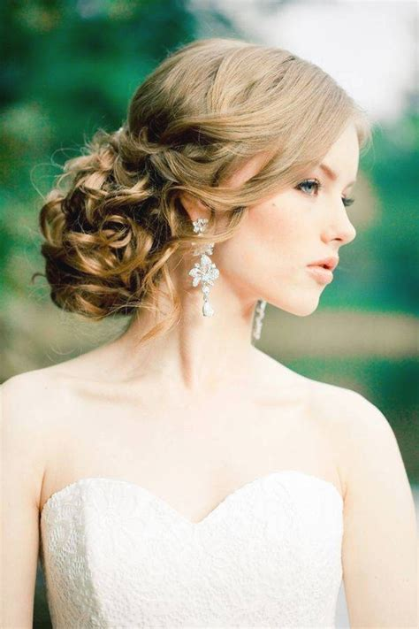 wedding hairstyles for hair strapless dress fade