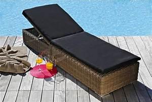 Bain De Soleil Résine Tressée : bain de soleil alu r sine bain de soleil pas cher ~ Dailycaller-alerts.com Idées de Décoration