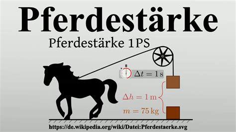 pferdestaerke youtube