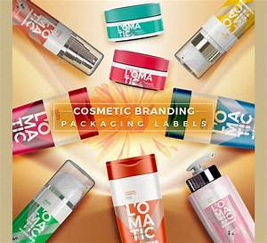 9 cosmetic label designs design trends premium psd With cosmetic packaging labels