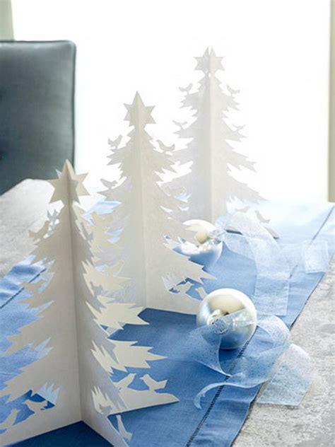 pretty paper christmas craft decoration ideas