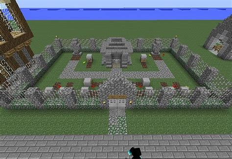 detailed village minecraft project