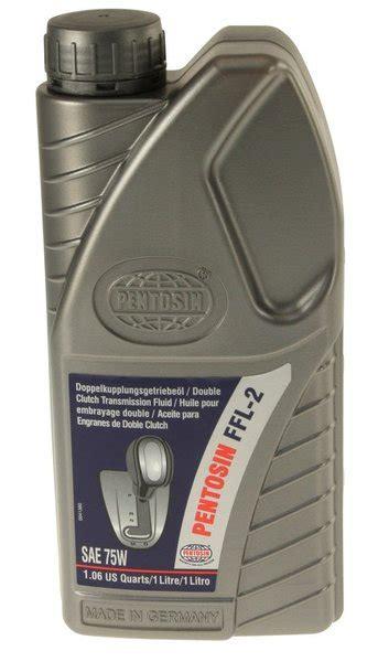 pentosin ffl 2 pentosin ffl 2 dsg transmission fluid fully synthetic 1 liter vw audi premium brand auto