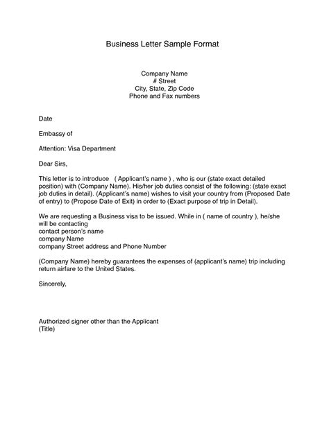 printable business letter format block style