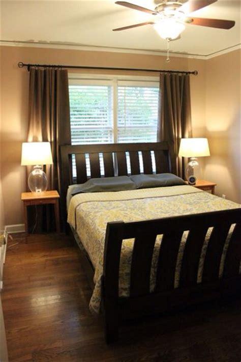 bed  window      longer curtain rod